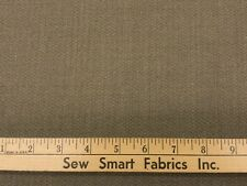 "100% Wool Worsted, Shetland Weave: Taupe; 60"" Width;  3 yd. Pieces"