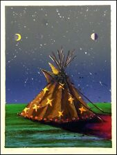 "Larry Fodor ""Dream Teepee""  Hand Signed & Numbered Make an Offer L@@K"