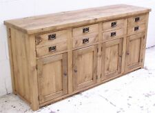 LARGE RUSTIC ROUGH SAWN PINE SIDEBOARD WE CAN MAKE YOU ANY SIZE