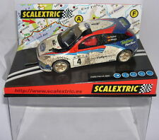 "qq SCALEXTRIC  6106 FORD FOCUS WRC #4 ""EFECTO BARRO""  CARLOS SAINZ-LUIS MOYA"
