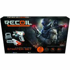 RECOIL Starter Set GPS Laser Combat Laserpistole Lasertag Grau/Orange NEU OVP