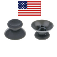 2pcs Grey Analog Thumb Sticks Joysticks Grips for Xbox 360 Controller Parts