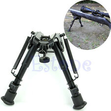 """Adjustable 6"""" to 9"""" Legs Height Sniper Hunting Rifle Bipod Sling Swivel Mount"""