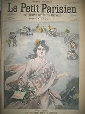 BONNE ANNéE VOEUX DU JOUR DE L'AN NAUFRAGE CAP COURONNE LE PETIT PARISIEN 1902