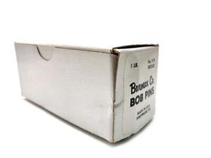 Burmax 1-3/4 Inch P-75 Bronze Invisible Bob Pins Made In USA (14 oz)