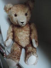 HERMANN,Bär,Teddy,Teddybär,ca. 50 cm,braun-gespitzt ,antik