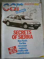 Car Jun 1982 Colt Starion Turbo, Fiat X1/9 vs Ford Escort XR3