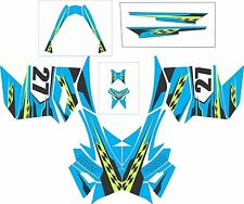SKI DOO BRP REV XP XM XR Z SUMMIT GRAPHICS DECAL WRAP 163 154 146 137 blue 27