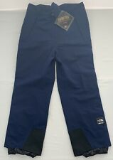 NEW VTG The North Face Gore-Tex Men's 2XL XXL Navy Full Zip Snow Ski Pants NWT