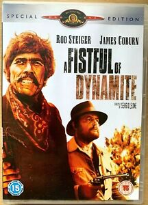 A Fistful of Dynamite DVD 1971 Spaghetti Western Classic 2-Disc Special Edition