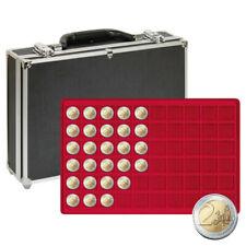 Valisette numismatique pour 480 pièces de 2 euros commémoratives.
