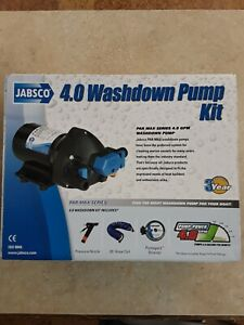 Jabsco 32900-0092 Washdown Pump Kit 4.0 GPM 60 PSI with 25 ft. Hose Coil NEW