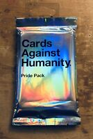 Cards Against Humanity - Pride Pack - Expansion Set New Great Stocking Stuffer