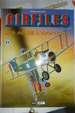 BD biggles airfiles n°11 les as de l'aviation tome 1 EO 2005 TBE brichau