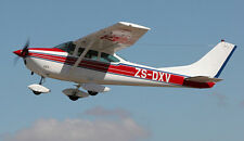 Giant 1/4 Scale Cessna 182 Skylane Plans and Templates 120ws