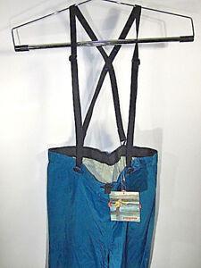 Vintage Patagonia Fishing Pants Waterproof Outdoors Suspenders Fly Fishing  XL