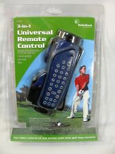 Radio Shack Golf Bag 3-in-1 Universal Remote Control Man Cave Game Room NEW