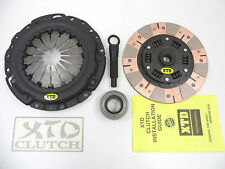 XTD STAGE 4 DUAL FRICTION RACE CLUTCH KIT ECLIPSE TALON GST GSX 3000GT STEALTH