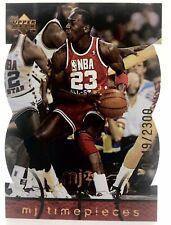 Rare: 1998 Upper Deck MJX Michael Jordan MJ Timepieces #18 Sr#d 0449/2300