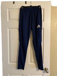 adidas Tiro 19 Size Small Men's Soccer Pants - Navy With Navy Stripes