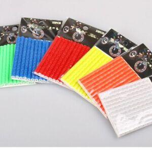 SET/LOT 12 PCS REFLECTORS Bicycle Bike Wheel Tire Spoke FOR CYCLING BIKES RACING