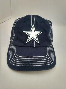 DALLAS COWBOYS AUTHENTIC HEADWEAR WOMEN'S HAT CAP ONE SIZE ADJUSTABLE STRAP NWT
