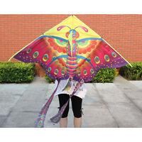 NEW 1.5m Butterfly animal Kite Outdoor fun sports Children's Toy stunt novelty