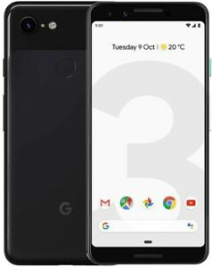 Google Pixel 3 64GB Just Black! For Verizon+GSM Unlocked Carriers!