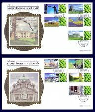 GB 2008 - Glorious Northern Ireland - Generic Smilers FDC , GS048/LS046