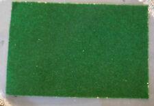 3 dunkelgrüne Grasmatten, Rasenmatten, 20 x 30 cm groß