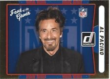 2016 Donruss Football Fans of the Game Card - Al Pacino