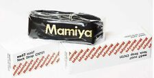Mamiya RB / RZ Kameragurt - Neck Strap -  BLACK & GOLD Edition Neu / New + lugs