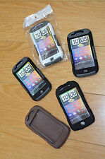 MyTouch 4G Hybrid Gel Skin and Hard Plastic Cases Lot