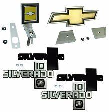 1983 1984 1985 1986 1987 CHEVROLET SILVERADO 10 EMBLEM KIT HOOD GRILL & FENDERS