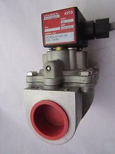 "ASCO  PVG292A23  Petrol & Fuel Oil  Solenoid Valve 1"" 230V AC Dual coil system"