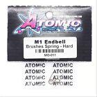 Atomic MO-011 M1 Endbell Brushes Spring Hard