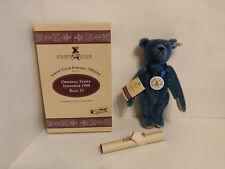 Steiff Teddybär 1908  Club Edition 1994 /95 30cm blau 420047 in OVP