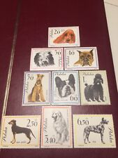Poland Stamps 1963 MNH+NG Dogs
