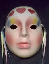 Clay Art About Face Ceramic Wall Mask