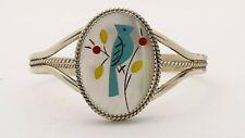 Handcrafted Bracelet - Free Shipping .925 Sterling Silver Opal & Enamel