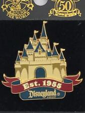 Disneyland 50th Anniversary Happiest Homecoming on Earth Castle Est.1955 Pin NOC