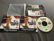Sony PlayStation 1 Video Game * World Cup 98 France * Complete But No Case
