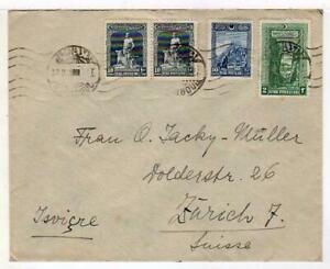 A6085) TURKEY Cov 1929 Istanbul Zurich
