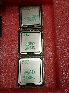 Lot of 3 Intel Xeon E5540 4-Core 2.53GHz 8MB 5.86GTs LGA1366 SLBF6 CPU Processor