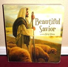 Beautiful Savior Artwork Storyboard by Greg Olsen 2004 1SED LDS Mormon Christ HB
