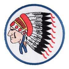 Indian Chief Headdress Patch, Native American Patches