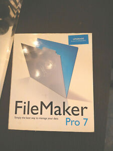 FileMaker Pro 7 - Upgrade for PC, Mac