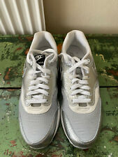 Nike Air Max 1 AM1 tamaño UK8 US9 Apollo Lunar Pack Metálico Plata 308866 003 Nuevo