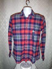 Long Sleeve Button front  Men's Flannel Shirts GAP 2XL,XL,M,S, 100% cotton Multi