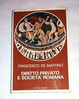 Diritto e società nell'antica Roma - Francesco De Martino -  Editori Riuniti